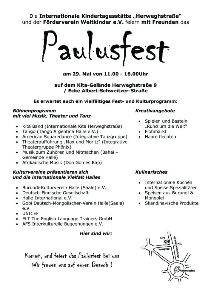 22. Paulusfest in Halle/S.